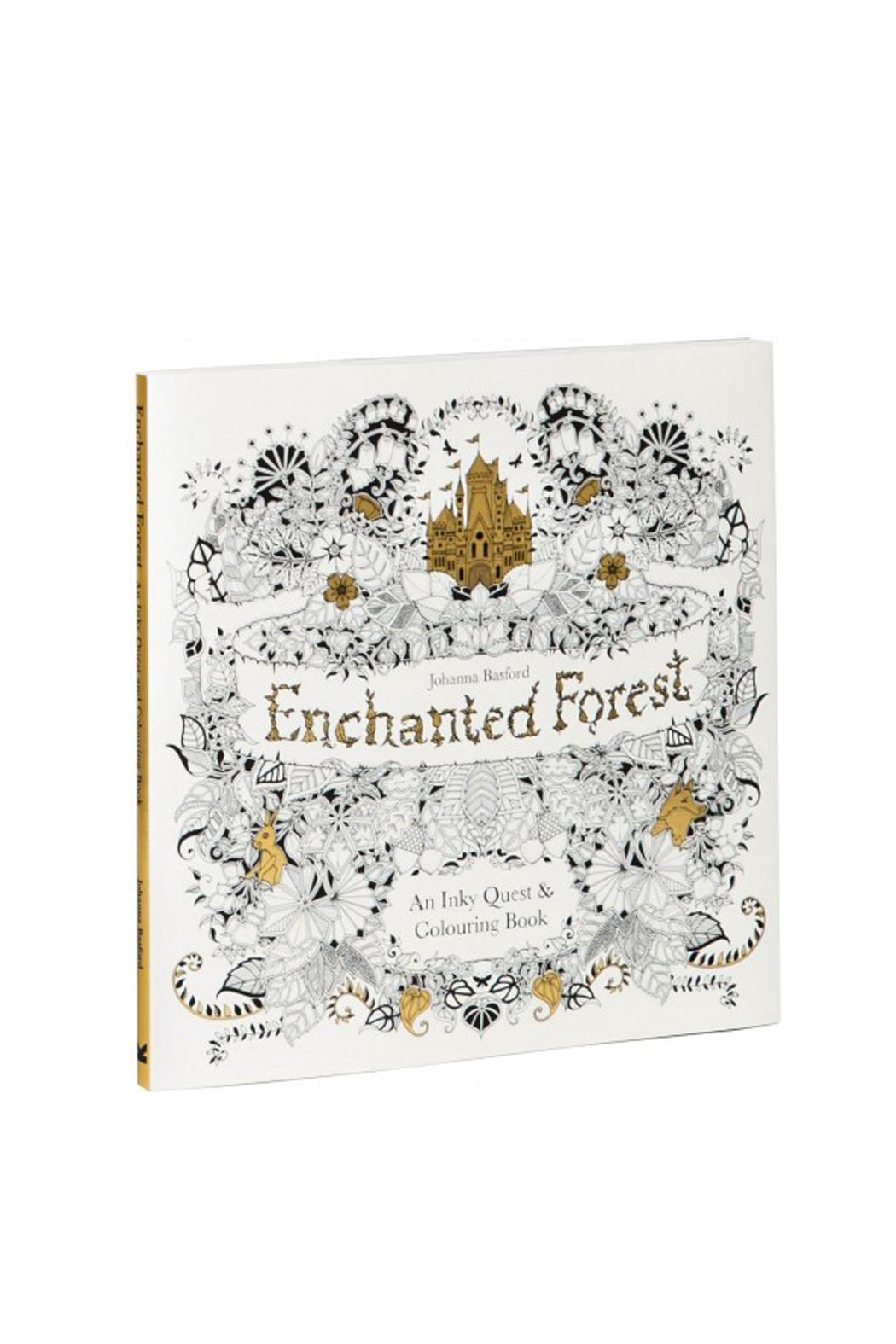 Enchanted Forest Colouring Book From Saskatchewan By