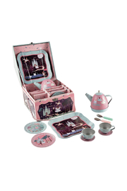 Floss And Rock Enchanted Musical Tin Tea Set - Front cropped