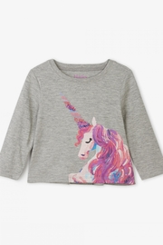 Hatley Enchanted Unicorn Long Sleeve Tee - Product Mini Image