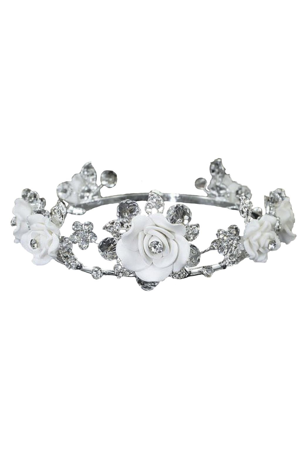 ENCHANTED SHIMMER DESIGNS Baby Crown - Front Cropped Image