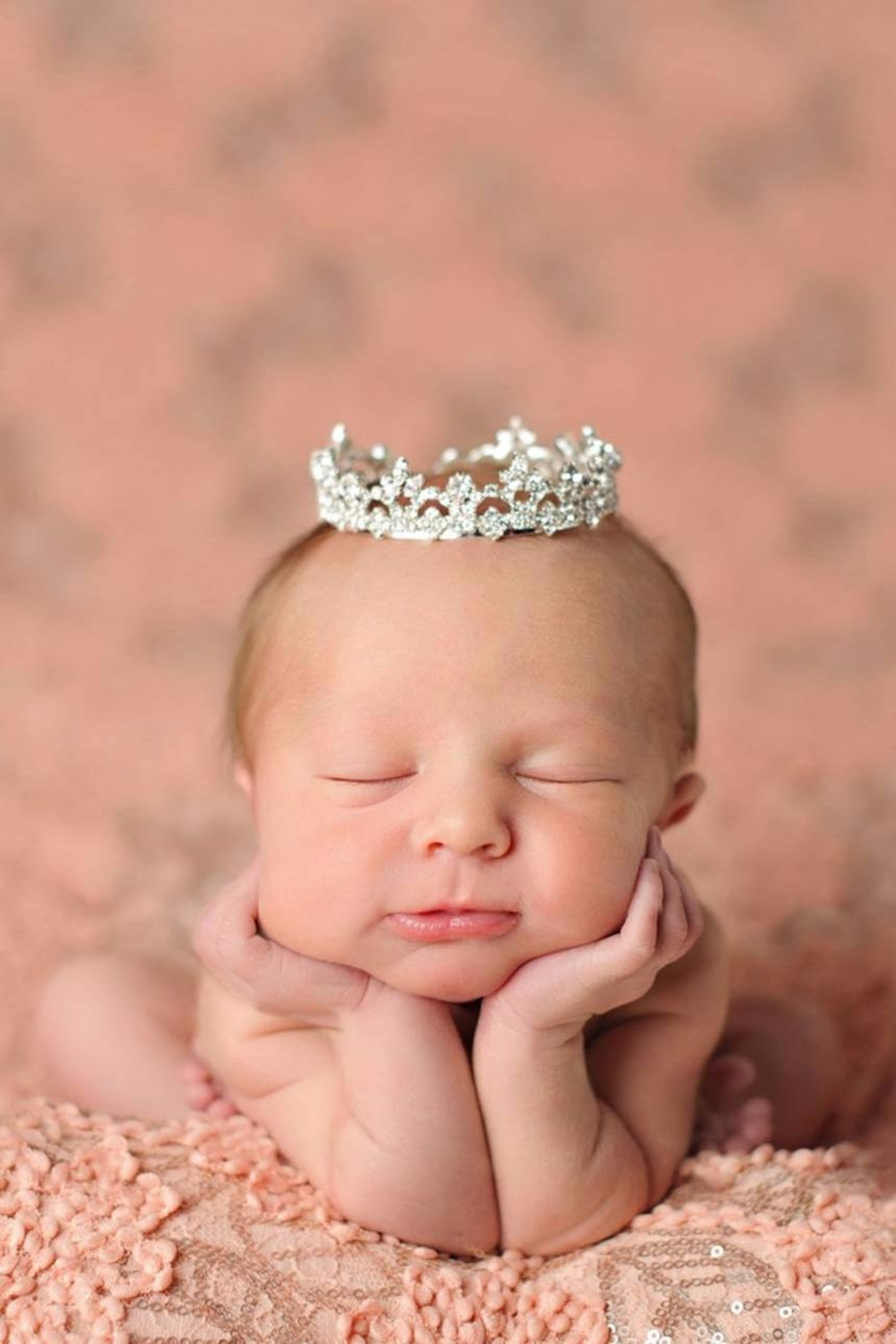 ENCHANTED SHIMMER DESIGNS Baby Crown - Main Image