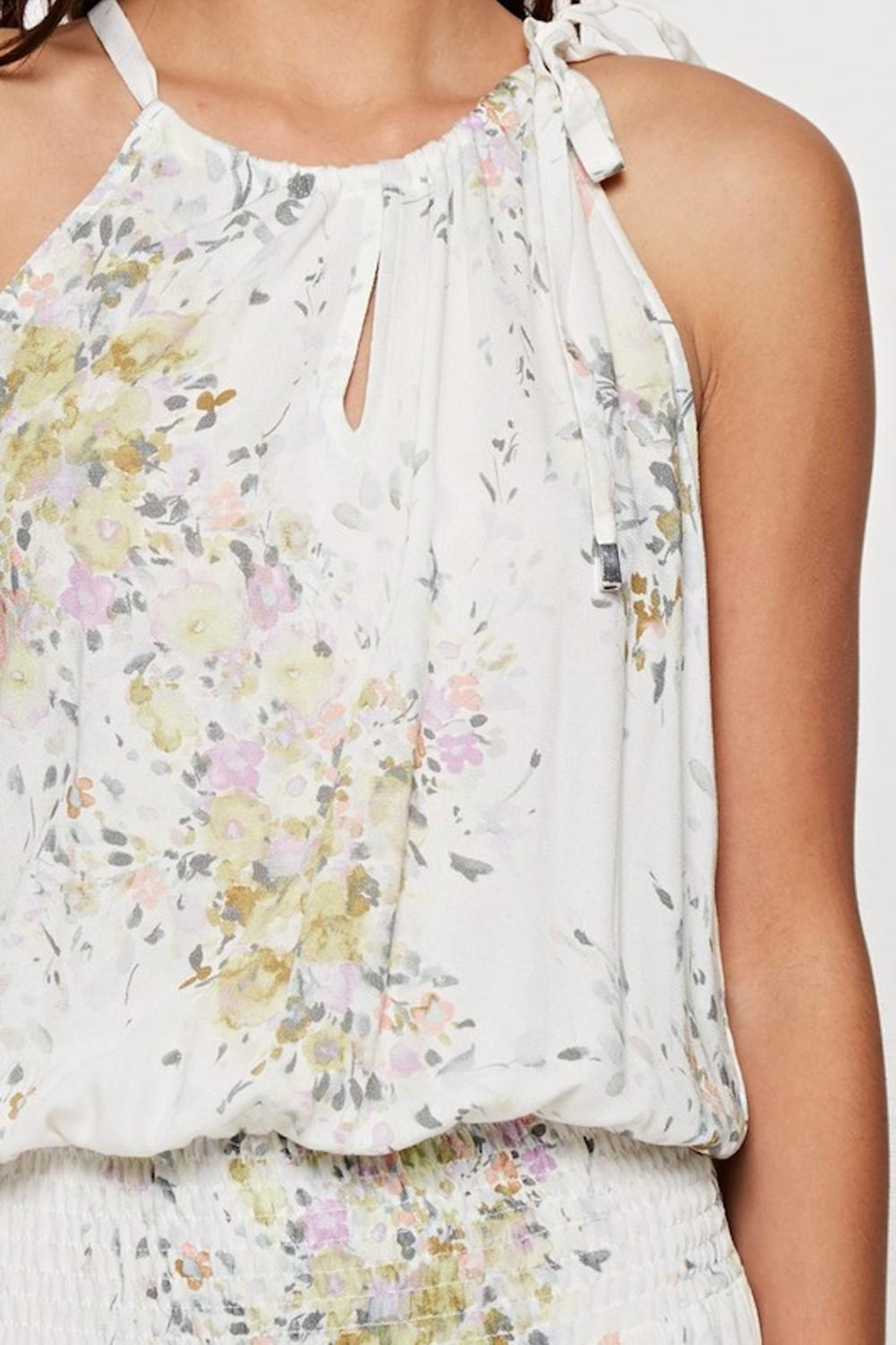 Lovestitch Enchanting Floral Maxi - Back Cropped Image