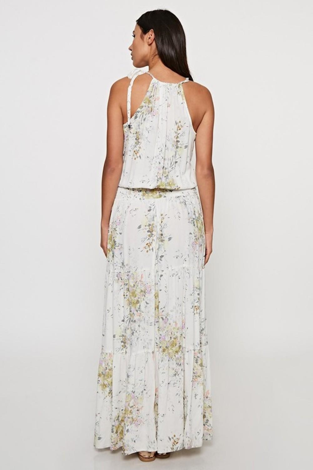 Lovestitch Enchanting Floral Maxi - Side Cropped Image