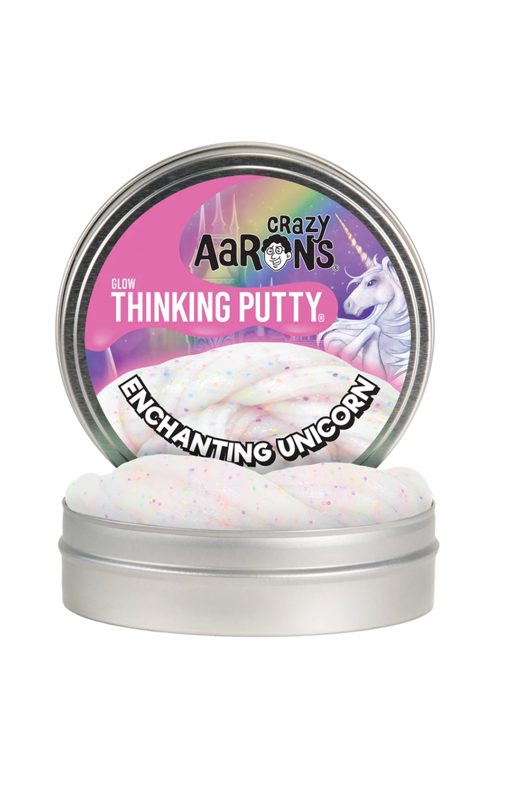 Crazy Aaron's Putty World Enchanting Unicorn 4
