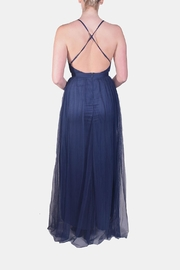 luxxel Enchantress Gown Navy - Side cropped