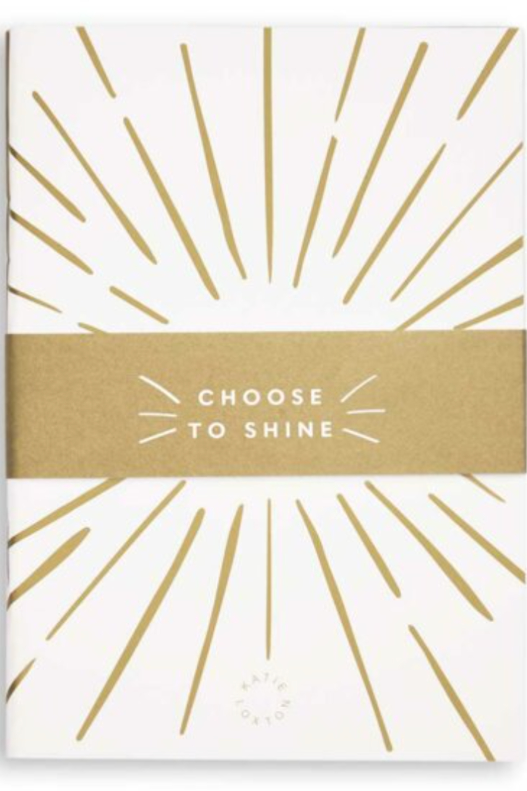 Katie Loxton Encouraging Duo Notebooks - Front Cropped Image