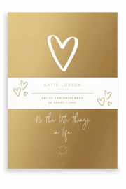 Katie Loxton Encouraging Duo Notebooks - Front cropped