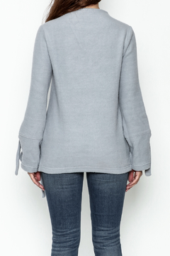 encreme Blue Tie Sweater - Alternate List Image