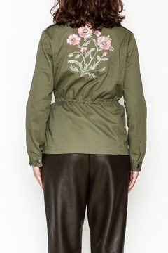 encreme Floral Embroidery Jacket - Alternate List Image