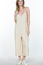 encreme Side Button Jumpsuit - Product Mini Image