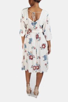 encreme Vintage Inspired Print Dress - Alternate List Image