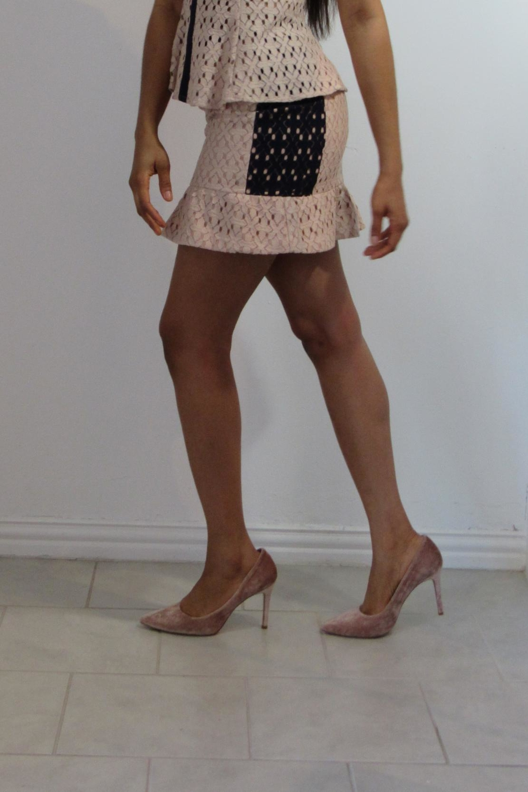 MODChic Couture Endless Mauve Skirt - Front Full Image