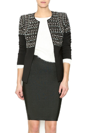 Endless Rose Black Bling Blazer - Product Mini Image