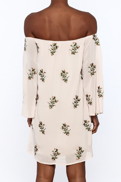 Endless Rose Beige Boho Shift Dress - Alternate List Image