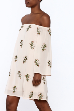 Endless Rose Beige Boho Shift Dress - Product List Image