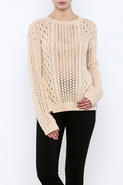 Endless Rose Close Ties Sweater - Product Mini Image