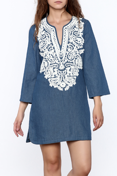 Endless Rose Denim Shift Dress - Product List Image