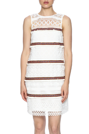 Endless Rose Embroidered Sleeveless Sheath - Side cropped