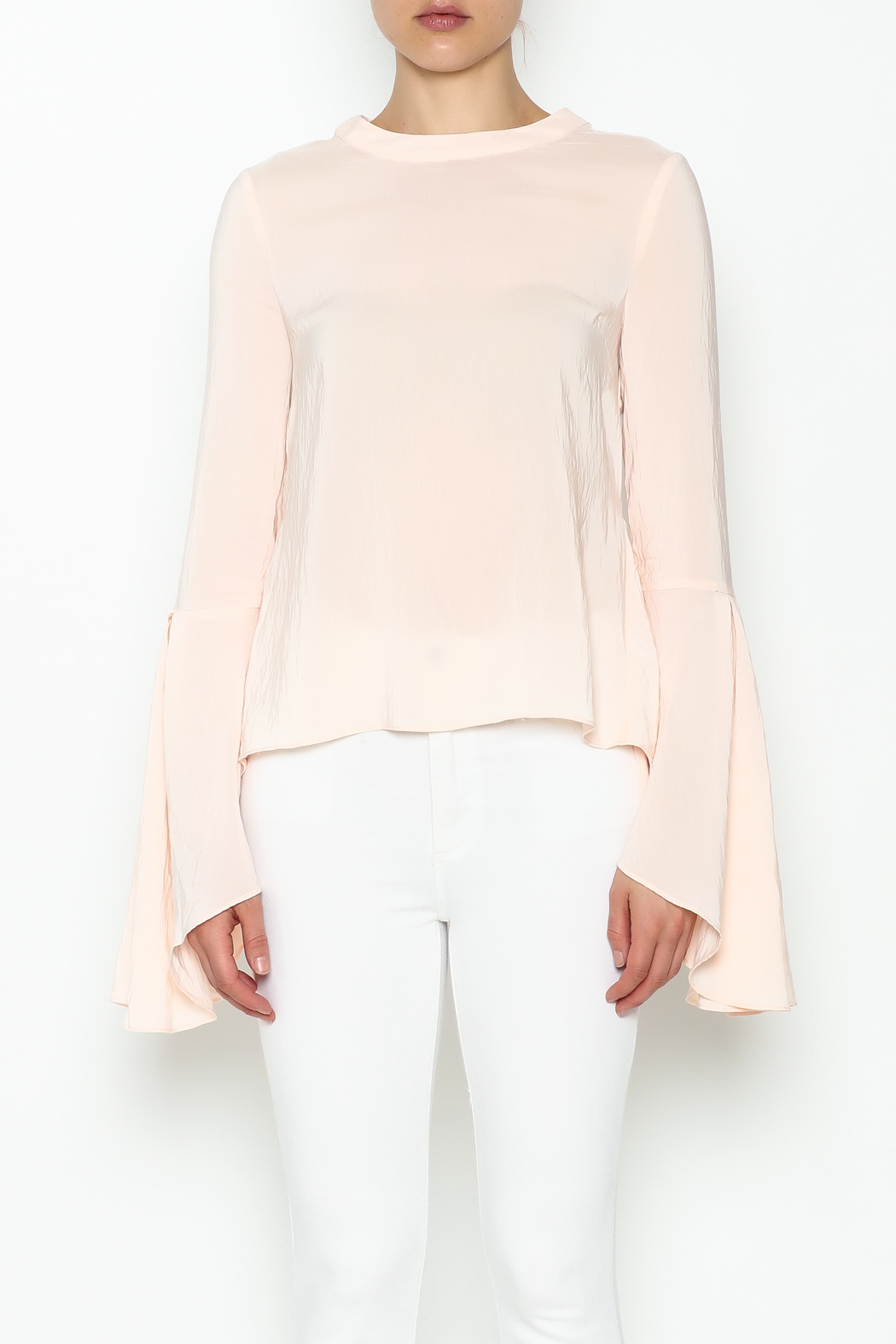 Endless Rose Flare Bottom Blouse - Front Cropped Image