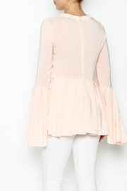 Endless Rose Flare Bottom Blouse - Back cropped