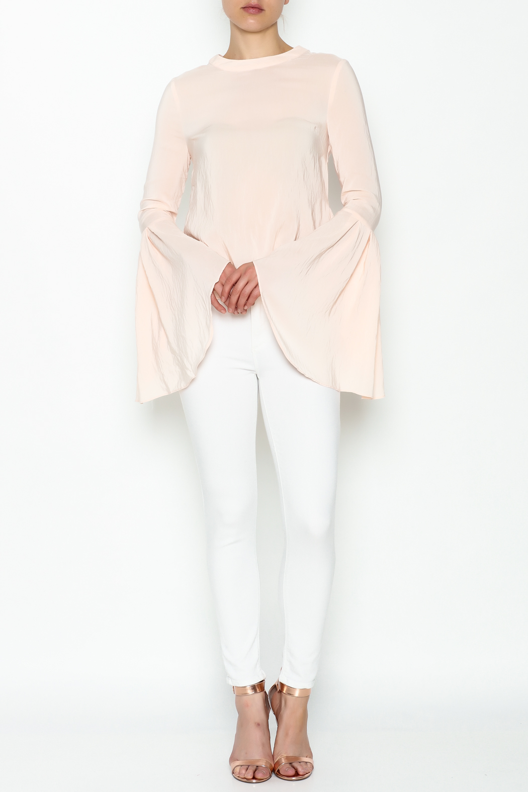 Endless Rose Flare Bottom Blouse - Side Cropped Image