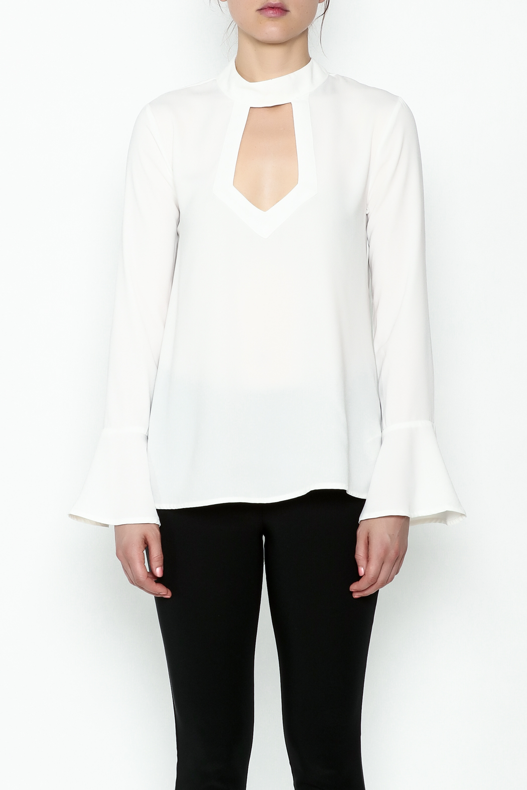 Endless Rose Front Long Sleeve Top - Front Full Image