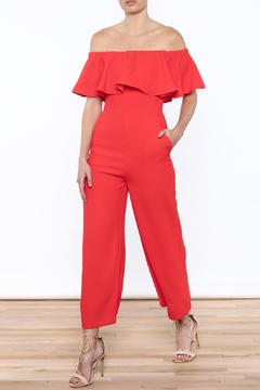 Shoptiques Product: Hearts A Flutter Jumpsuit
