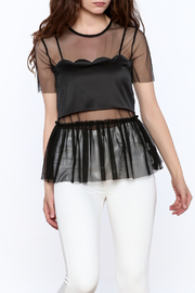 Endless Rose Hot Mesh Combo Top - Product Mini Image