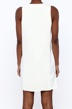 Endless Rose Ivory Sleeveless Shift Dress - Alternate List Image