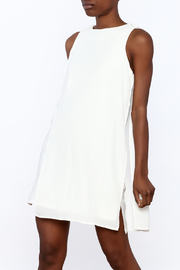 Endless Rose Ivory Sleeveless Shift Dress - Product Mini Image