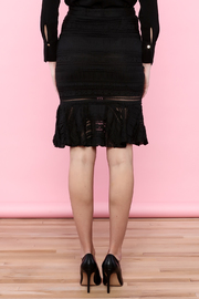 Endless Rose Lace Trumpet Skirt - Back cropped