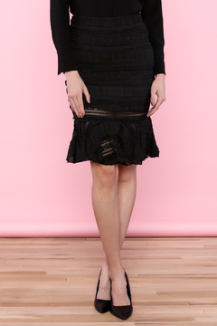 Endless Rose Lace Trumpet Skirt - Product List Image
