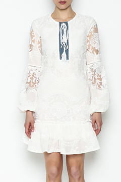 Endless Rose Lace Up Dress - Product List Image
