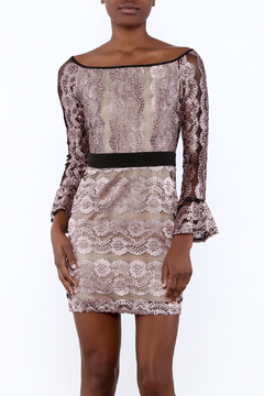 Endless Rose Off Shoulder Lace Dress - Product List Image