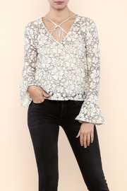 Endless Rose Romantic Lace Top - Product Mini Image