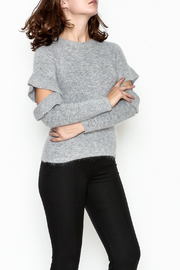 Endless Rose Ruffle Sleeve Sweater - Front cropped