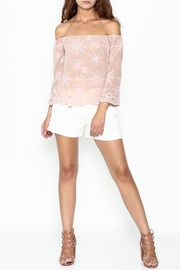 Endless Rose Scallop Trim Blouse - Side cropped