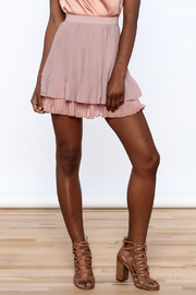 Endless Rose Old Rose Pleated Skirt - Product Mini Image