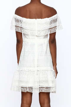 Endless Rose White Crochet Lace Dress - Alternate List Image