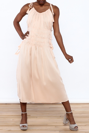 Endless Rose Blush Sleeveless Midi Dress - Product Mini Image