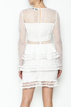 Endless Rose Tiered Lace White Dress - Alternate List Image