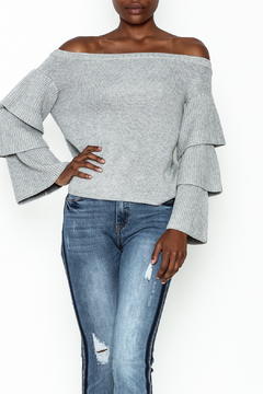 Shoptiques Product: Tiered Sleeves Sweater