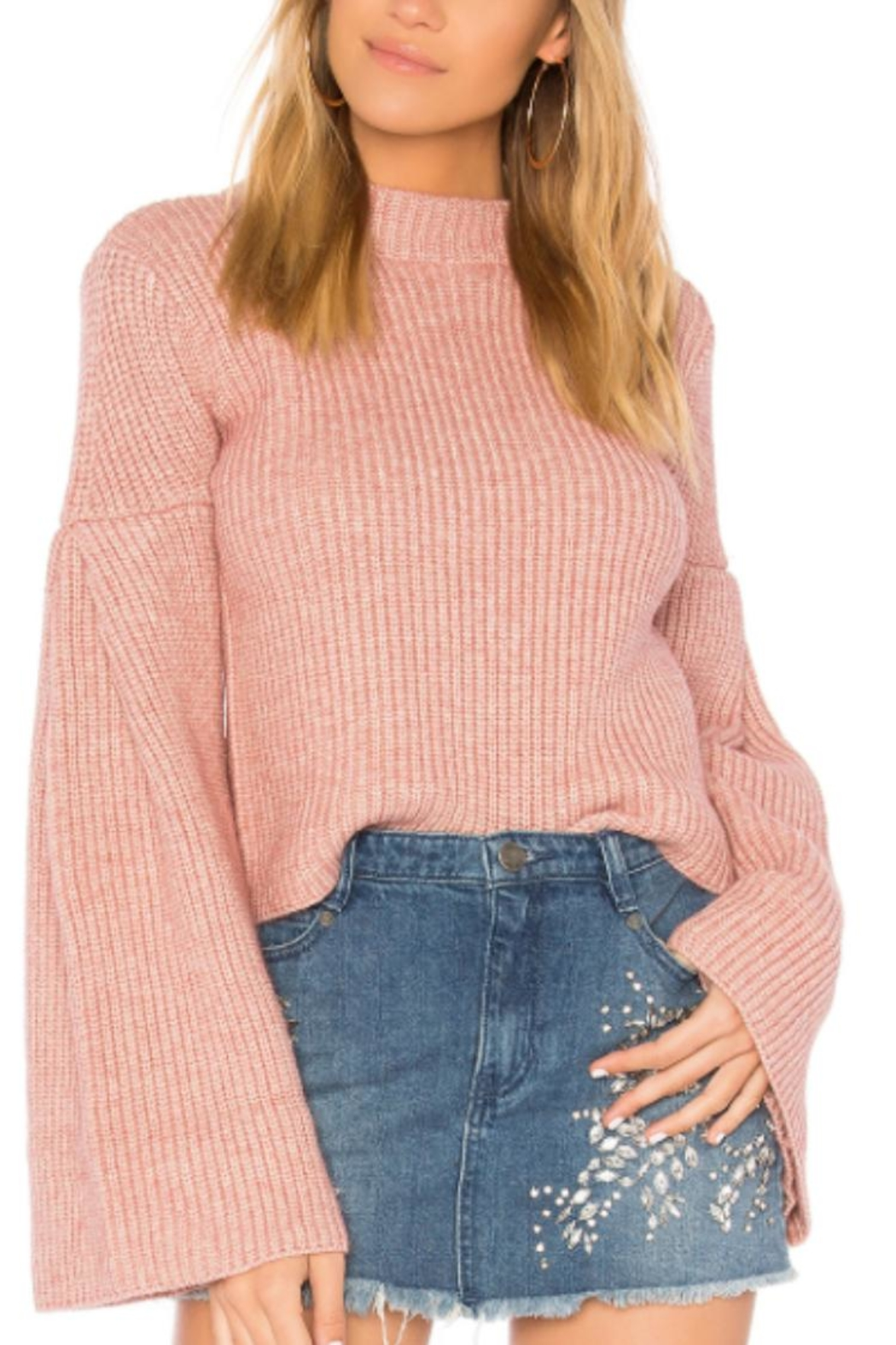 Endless Rose Bell Sleeve Sweater - Main Image