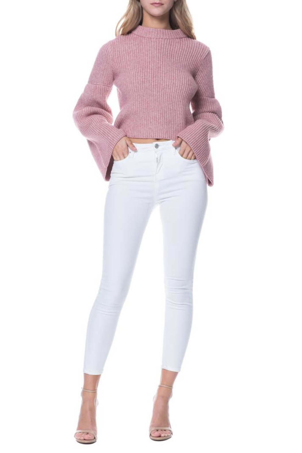 Endless Rose Bell Sleeve Sweater - Front Full Image