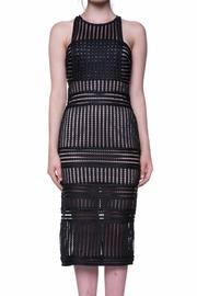 Endless Rose Black Midi Dress - Product Mini Image