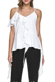 Endless Rose Cascading Ruffle Top - Product Mini Image