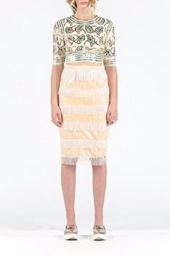 Shoptiques Product: Cecily Fringe Skirt
