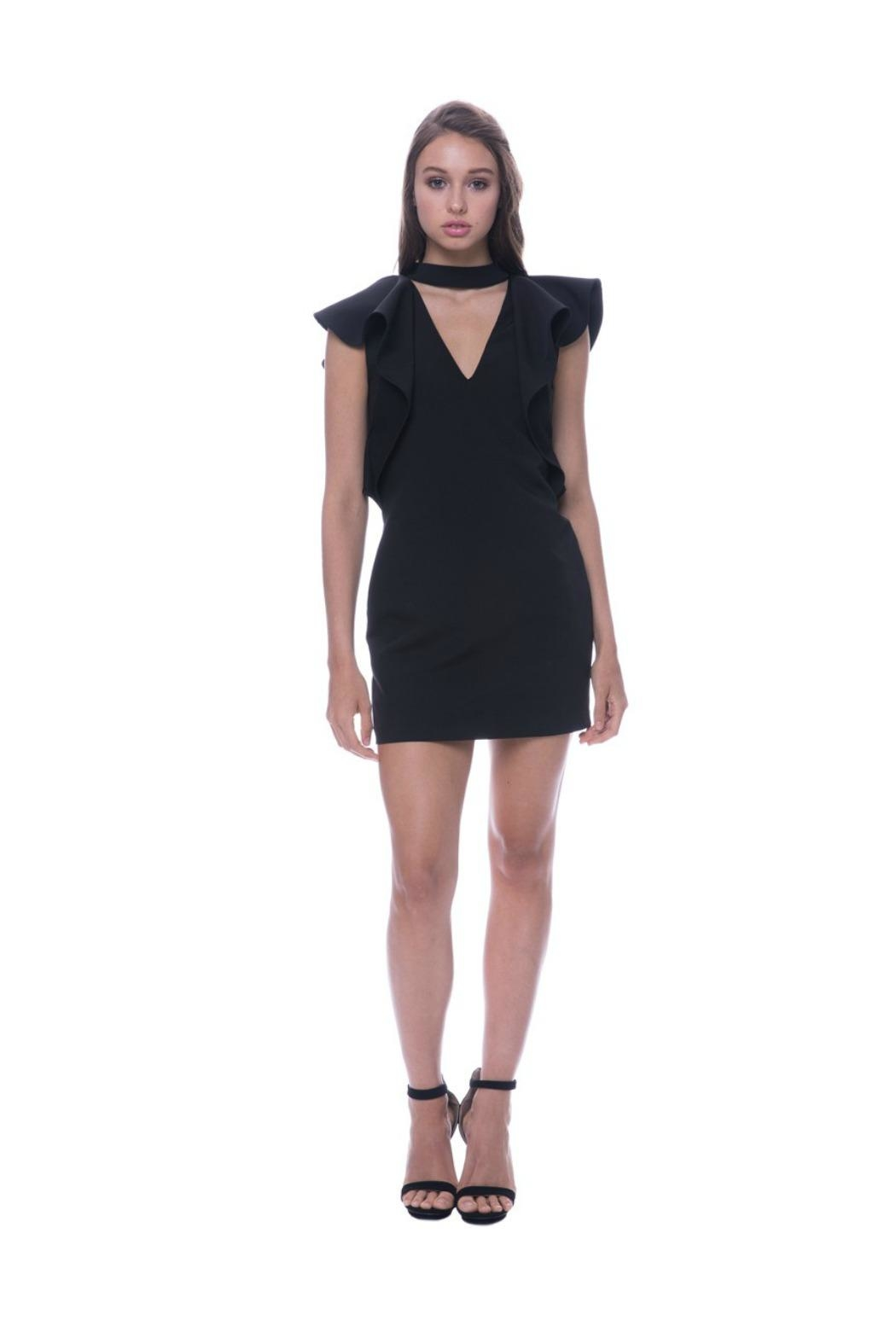 Endless Rose Choker Neck Dress - Main Image
