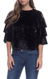 Endless Rose Crushed Velvet Top - Product Mini Image
