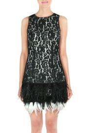 Endless Rose Feather Holiday Dress - Product Mini Image